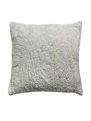 Textured Velvet Decorative Pillow