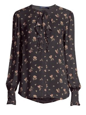 POLO RALPH LAUREN Autumn Floral Blouse