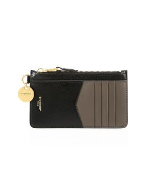 GV3 Bicolor Leather Card Case