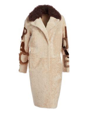 Shearling Lamb & Curly Lamb Fur Coat