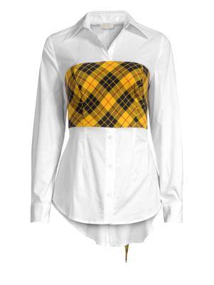 PETERSYN   Monroe Plaid Overlay Shirt   Goxip