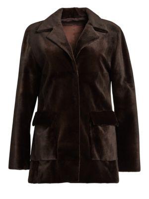 ZAC POSEN | Sheared Mink Jacket | Goxip