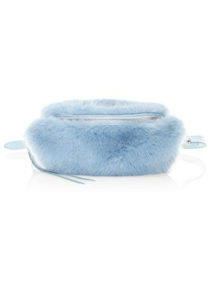 Faux Fur Sling Bag