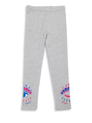 Little Girl's & Girl's Logo Cotton Leggings