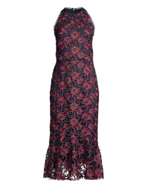 Pocantico Crocheted Lace Dress