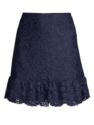 Lace Tulip Mini Skirt