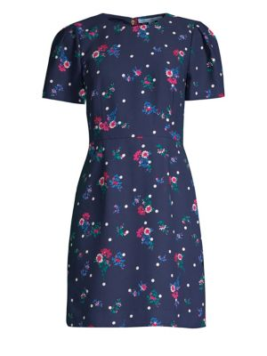 Bouquet Dot Short Dress