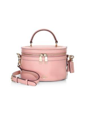 Coach x Selena Gomez Trail Crystal-Embellished Bag