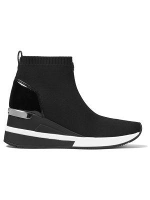 Skyler Soft Knit High-Top Sneakers