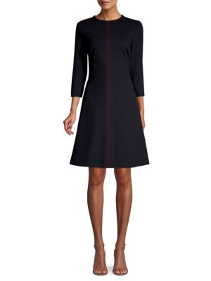 ESCADA SPORT | Stitch Detailed Jersey Dress | Goxip