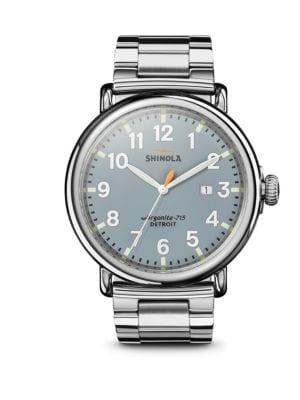 The Runwell Stainless Steel Bracelet Watch