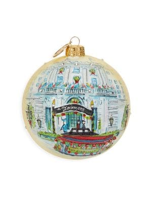Fairmont Limited Edition Holiday Ornament - Fairmont San Francisco