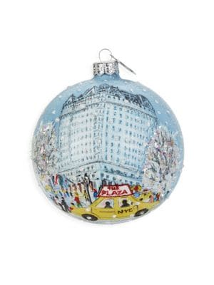 Fairmont Limited Edition Holiday Ornament - The Plaza, New York