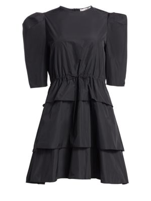 SEE BY CHLOE | Taffeta Tiered Party Dress | Goxip