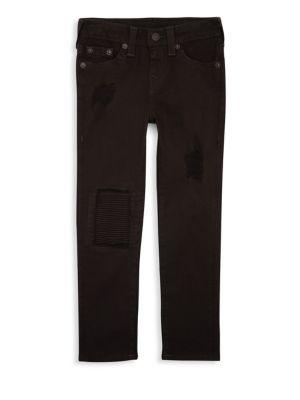 TRUE RELIGION   Boy's Rocco Patch Jeans   Goxip