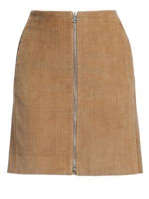 Heidi Corduroy Mini Skirt