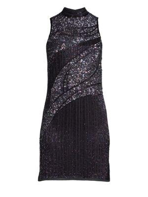 Courtney Beaded Mini Dress