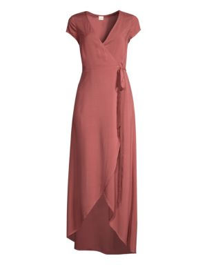 LSPACE | Goa Wrap Dress | Goxip