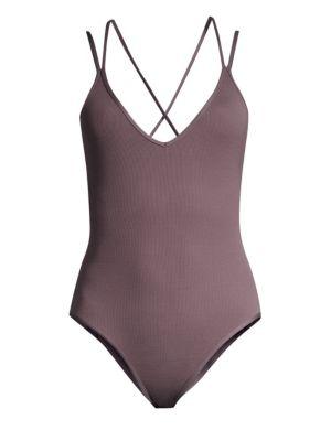 LSPACE | Dakota Classic One-Piece Swimsuit | Goxip