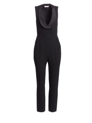 Everett Double-Breasted Jumpsuit