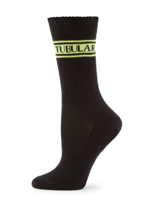 Tubular Ribbed Socks