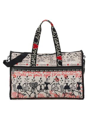 LESPORTSAC Alber Elbaz x Lesportsac Large Juno Weekender Bag