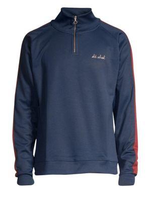 Paris-Siberie Sporty Cotton Sweatshirt