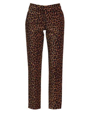 Harrison Leopard Trousers