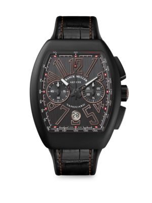 FRANCK MULLER Vanguard Black Chronograph Watch