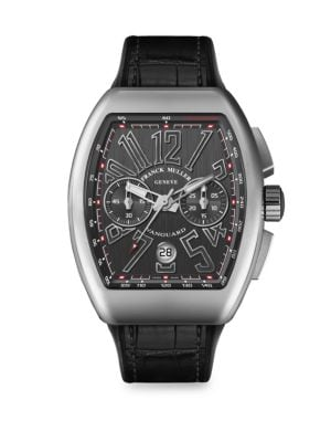 Vanguard Stainless Steel Chronograph Watch