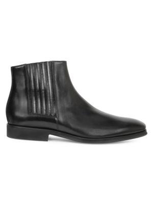 Rezzo Leather Chelsea Boots