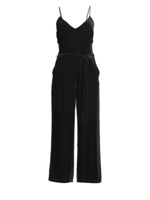 Jaelyn Velvet Jumpsuit