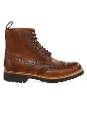 Fred Commando Wingtip Boots