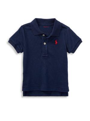 Baby Boy's Short Sleeved Polo Shirt