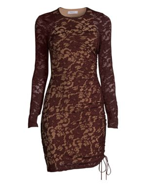 Disinformation Lace Sheath Dress