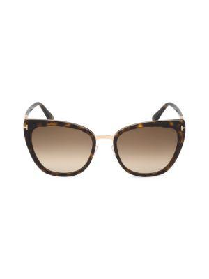 Simona 57MM Cat Eye Sunglasses