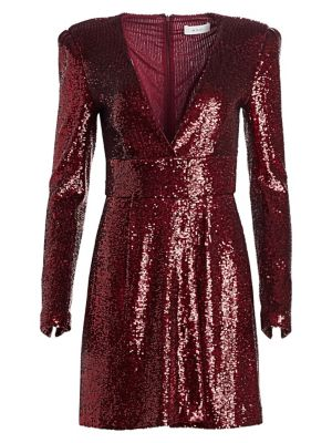 Mara Sequin Mini A-Line Dress