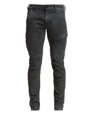 Rackam Seamed Skinny Jeans