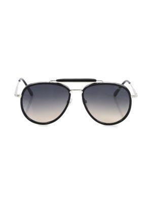 Tripp 58MM Aviator Sunglasses