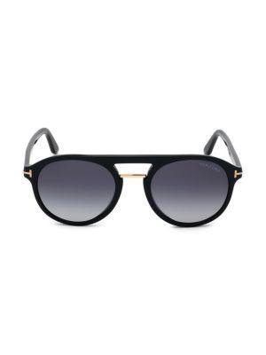Ivan 54MM Round Sunglasses