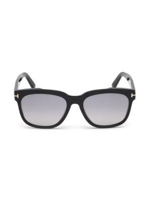 Rhett 55MM Square Sunglasses