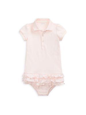 Baby Girl's Tiered Ruffled Hem Dress