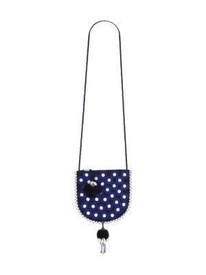 Luna Polka-Dot Crossbody Bag