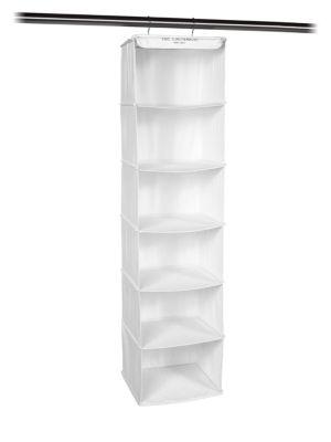THE LAUNDRESS | Home Organization Six-Tier Hanging Organizational Shelf | Goxip