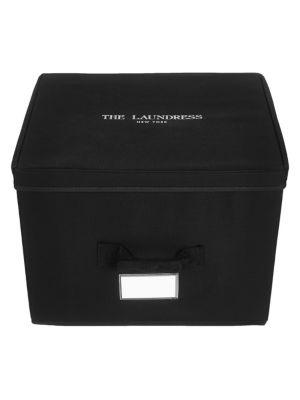 THE LAUNDRESS   Medium Cotton Storage Box   Goxip
