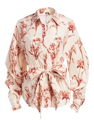 Rushcutters Bay Floral Blouse