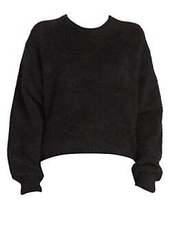 아크네 스튜디오 Acne Studios Kathy Knit Crewneck Sweater,Black