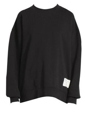 Fyona Wash Label Cotton Sweatshirt