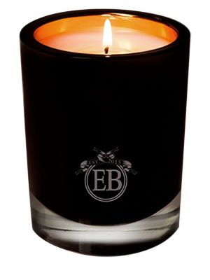 EB FLORALS Rose & Leather Candle/8 Oz.