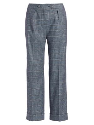 Quinby Check Trousers